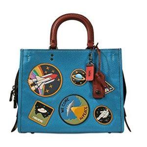 Coach space nasa rogue RARE handbag NWT